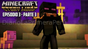 Sale A La Venta Minecraft Story Mode Episodio 3