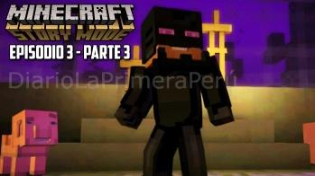 Sale A La Venta Minecraft Story Mode Episodio 3