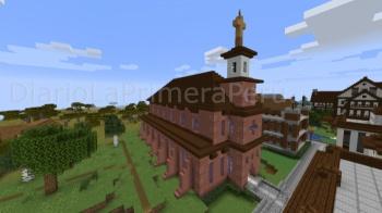 Ciudad De Oslo Recreada En Minecraft