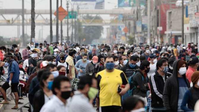 Perú: Coronavirus Alcanza La Cifra Más Alta En Número De Contagiados Por Día