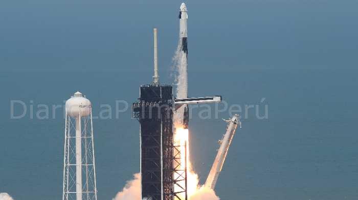 Así Fue El Despegue Del Cohete Falcon 9 De Spacex Quien Se Encargara De Llevar Astronautas De La Nasa