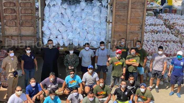 El Sacerdote Que Donó Más De 143 Mil Canastas A Los Más Necesitados