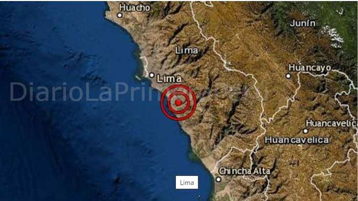 Esta Madrugada Un Sismo De Magnitud 3.7 Se Sintió En Lima
