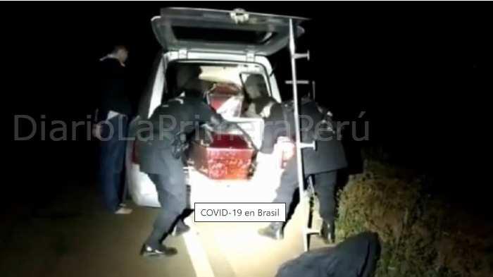 Brasil: Sujeto Desplazaba Marihuana En Ataúdes Y Aseguraba Llevar Víctimas De Covid-19