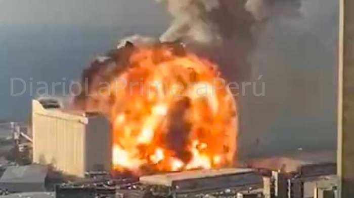 Líbano: Va En Aumento Los Números De Fallecidos Y Heridos Por Explosión En El Puerto De Beirut